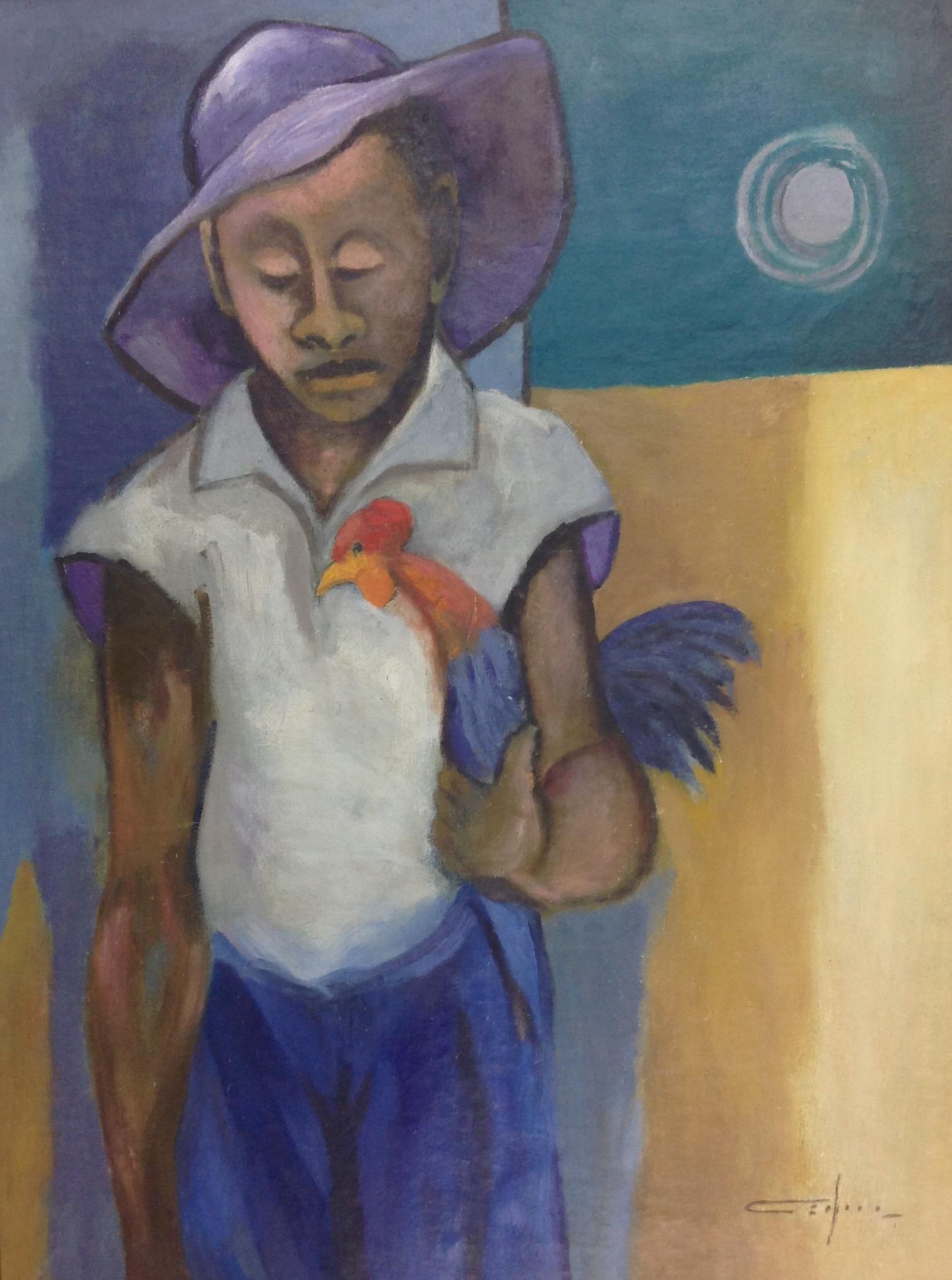Dieudonne Cedor 24X32 #119-3-96 canvas