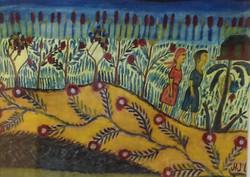 Jn Laurent Joseph 11X15 #67-6-91 aquarelle