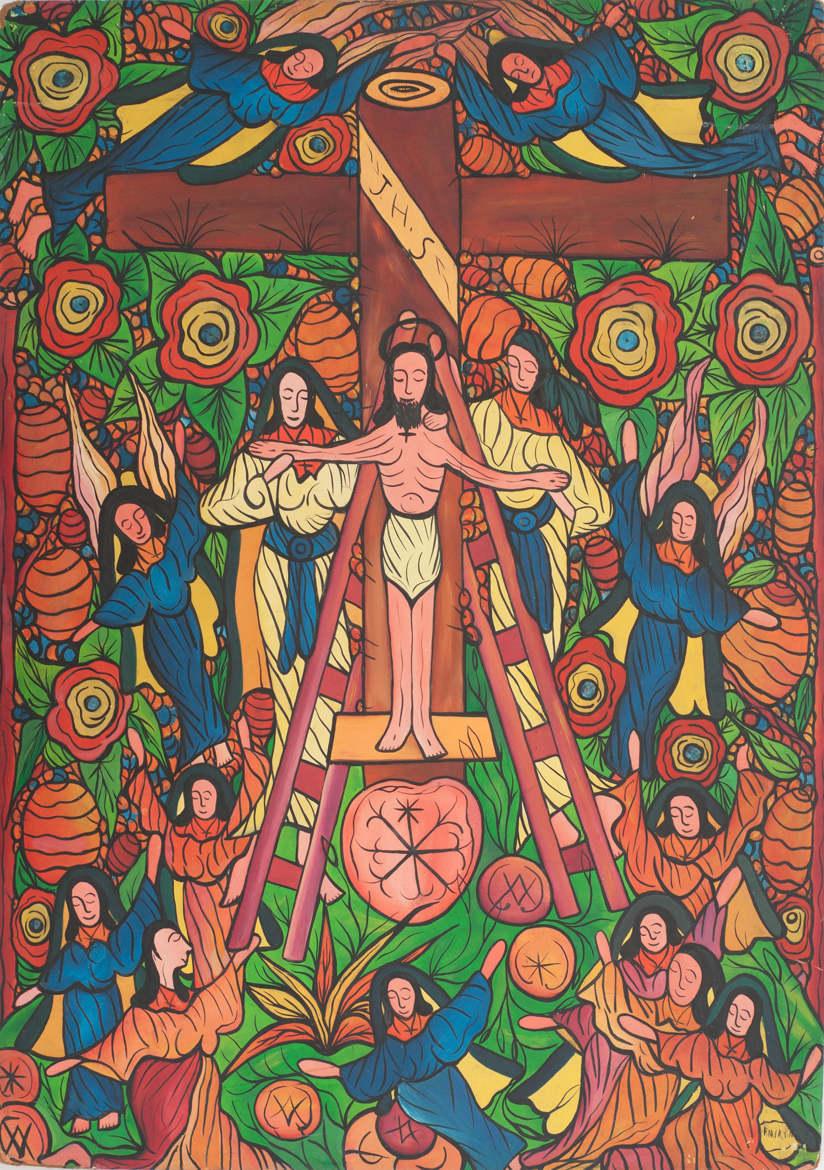 Martinez Florence 32X22 1:2 #1-6-91 Boar