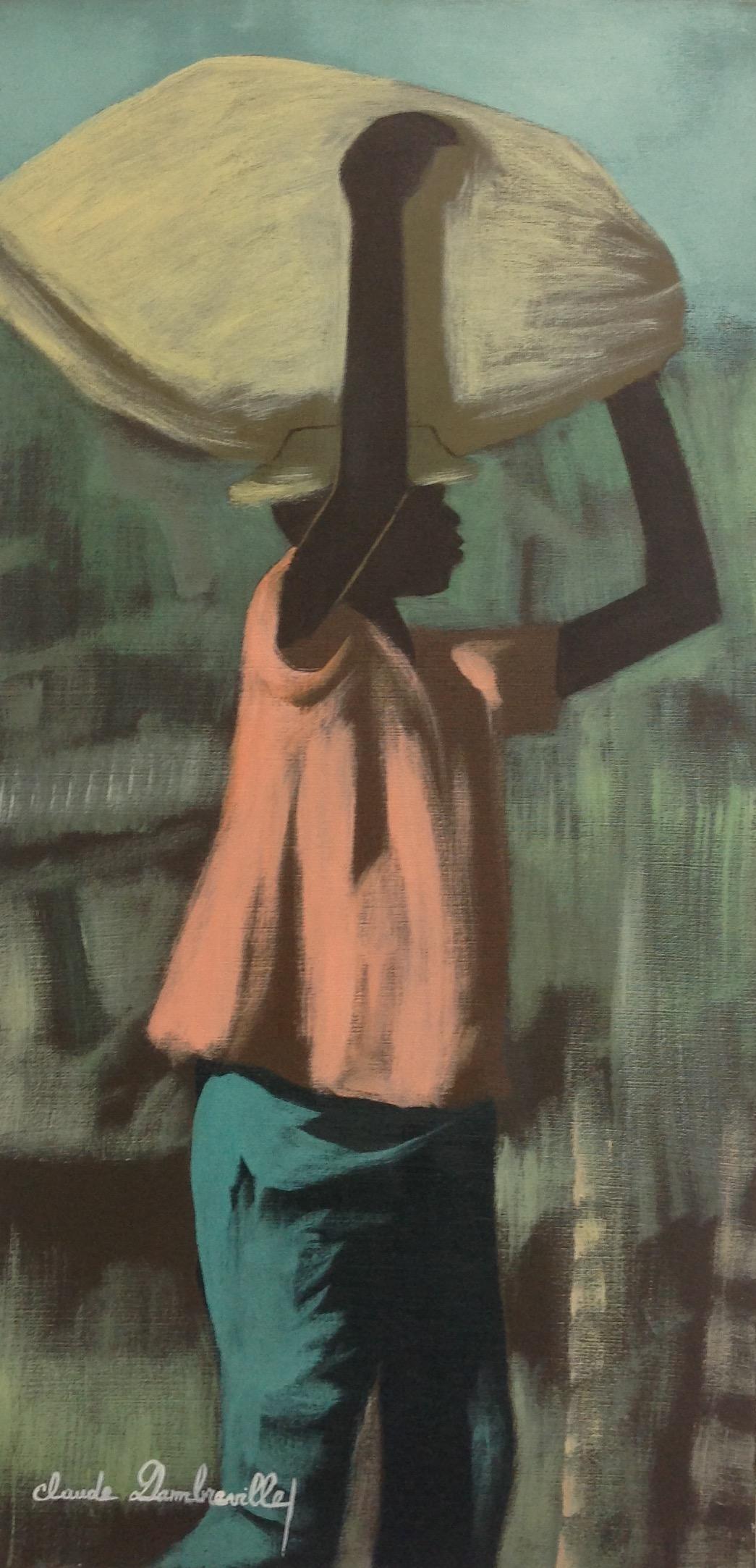 Dambreville Claude 12X24 #227-3-96 canvas 1998
