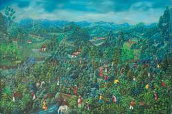 Brierre Edgard 48X72 #91-4-90 Canvas 198