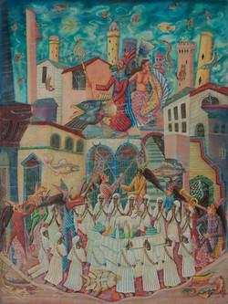 Valcin Gerard 40X30 #51-3-96 Canvas 1981