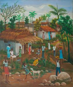 Dostaly Emmanuel 24X20 #61-3-96 Canvas 1