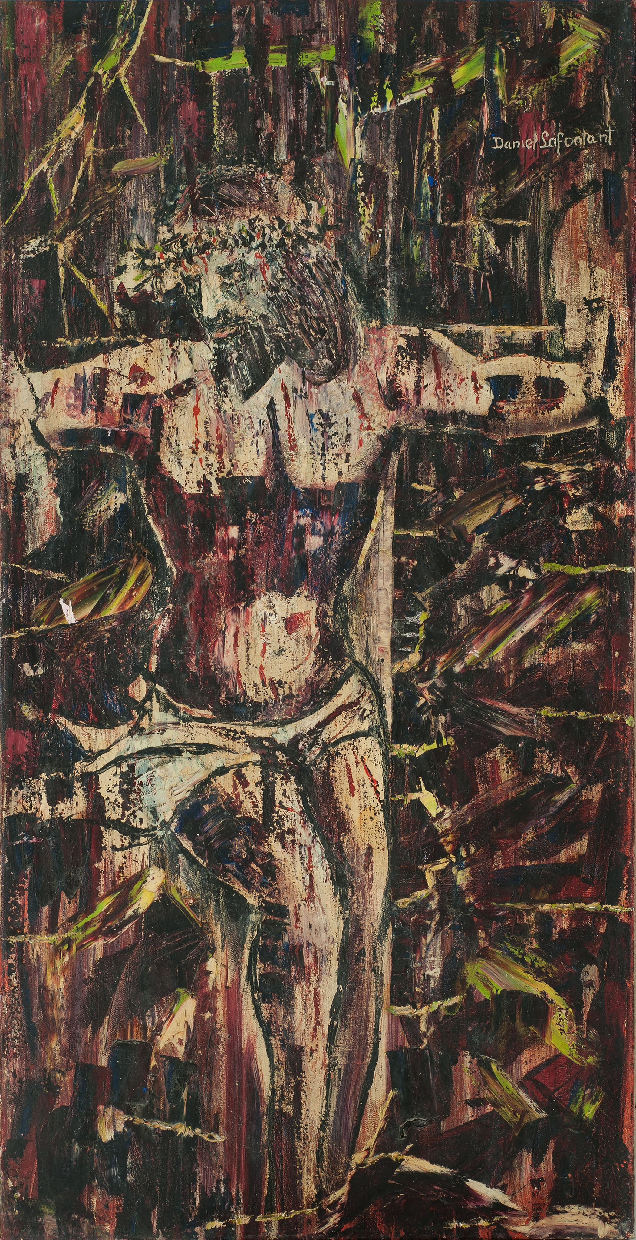 Lafontant Daniel 47X24 #16-2-94 Canvas C