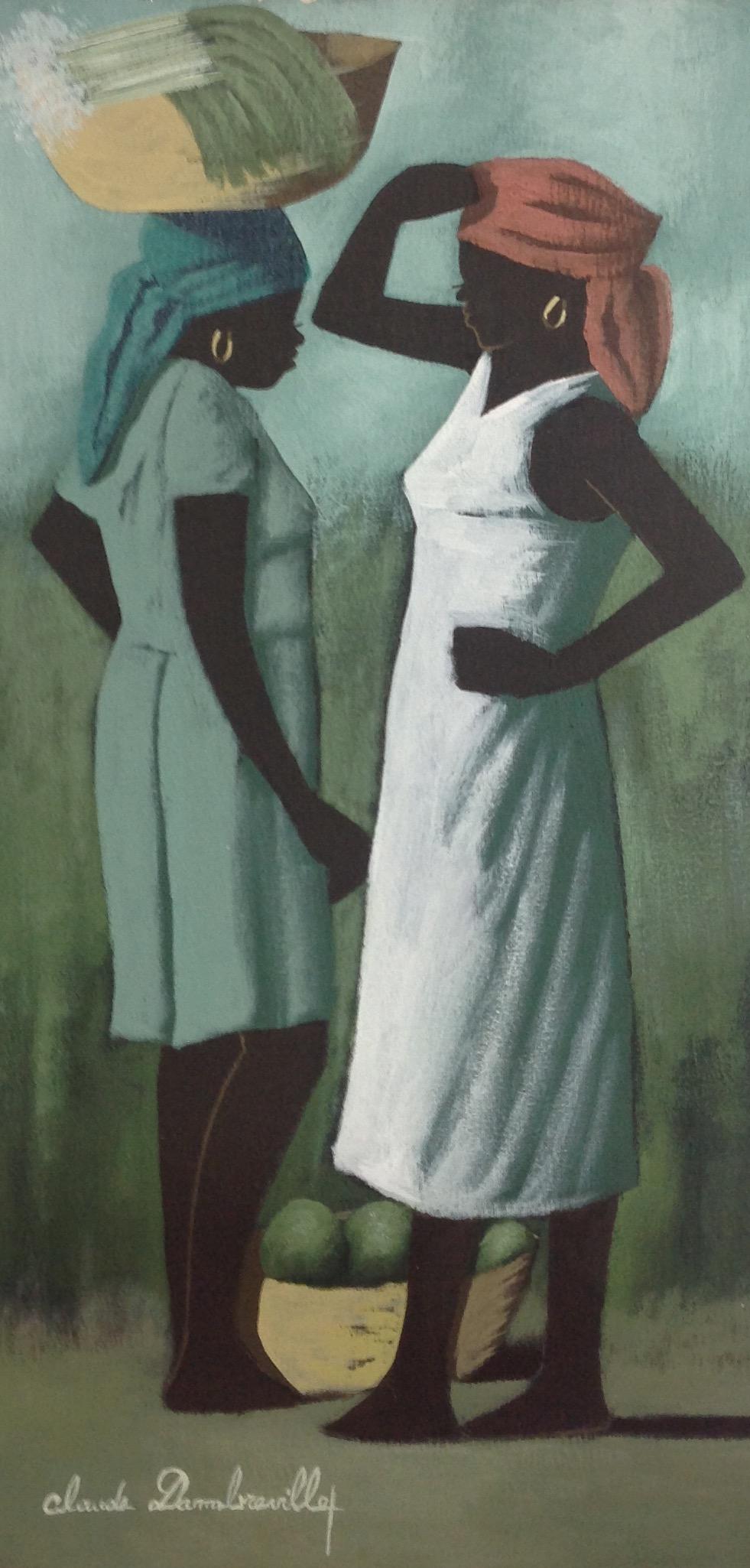 Dambreville Claude 12X24 #280-3-96 canvas 1999