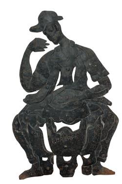 Brierre. E 16X25 #1 Sculpture:Metal