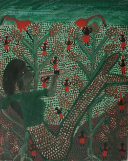 St Vil Louines 25X20 #2-3-96 Canvas 1990