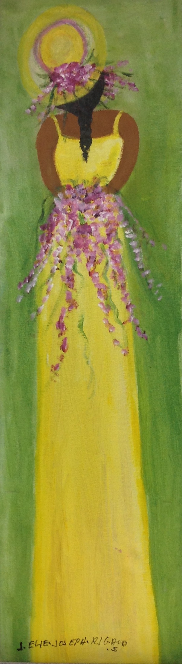 Rigaud Joseph Elie 33X9 #1-1-12 canvas 2005