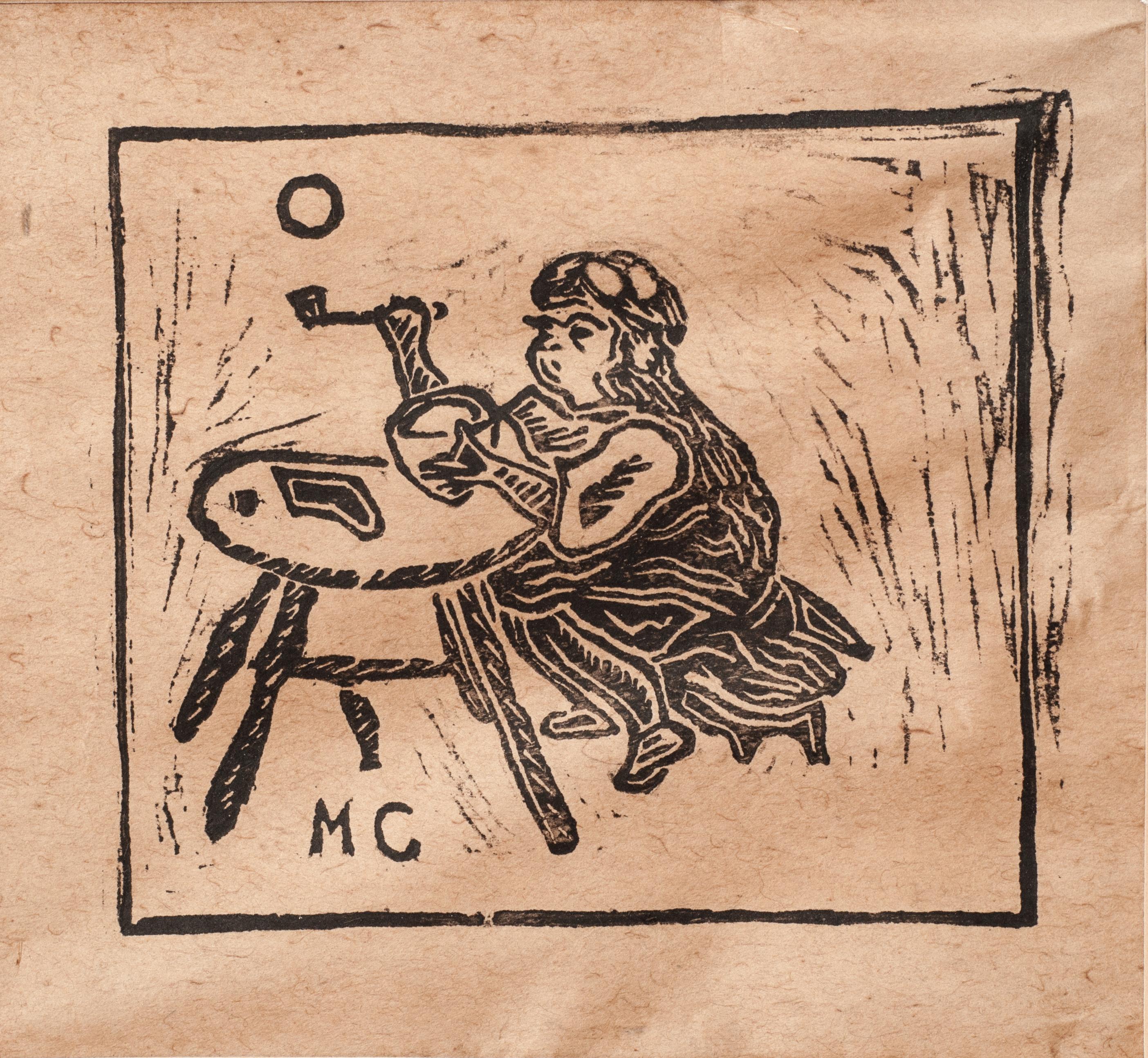 M.C. 6 1:2X 6 1:2 #1 Dessin Circa 1970