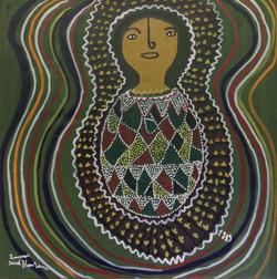 St.Fleurant Louisanne 234X24 #18-3-96 canvas 1989