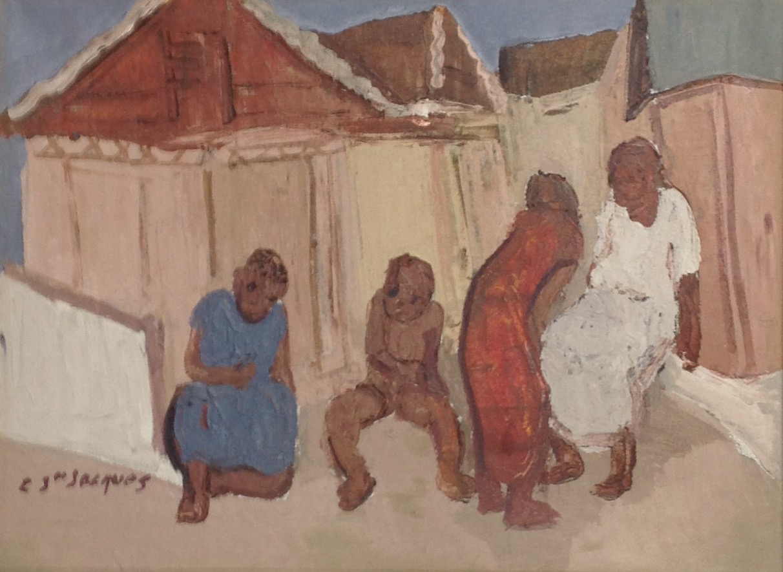 Jn Jacques Carlo 12X16 #110-3-96 canvas