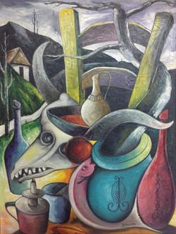 Gourgue Jacques E. 24X32 #24-3-96 canvas