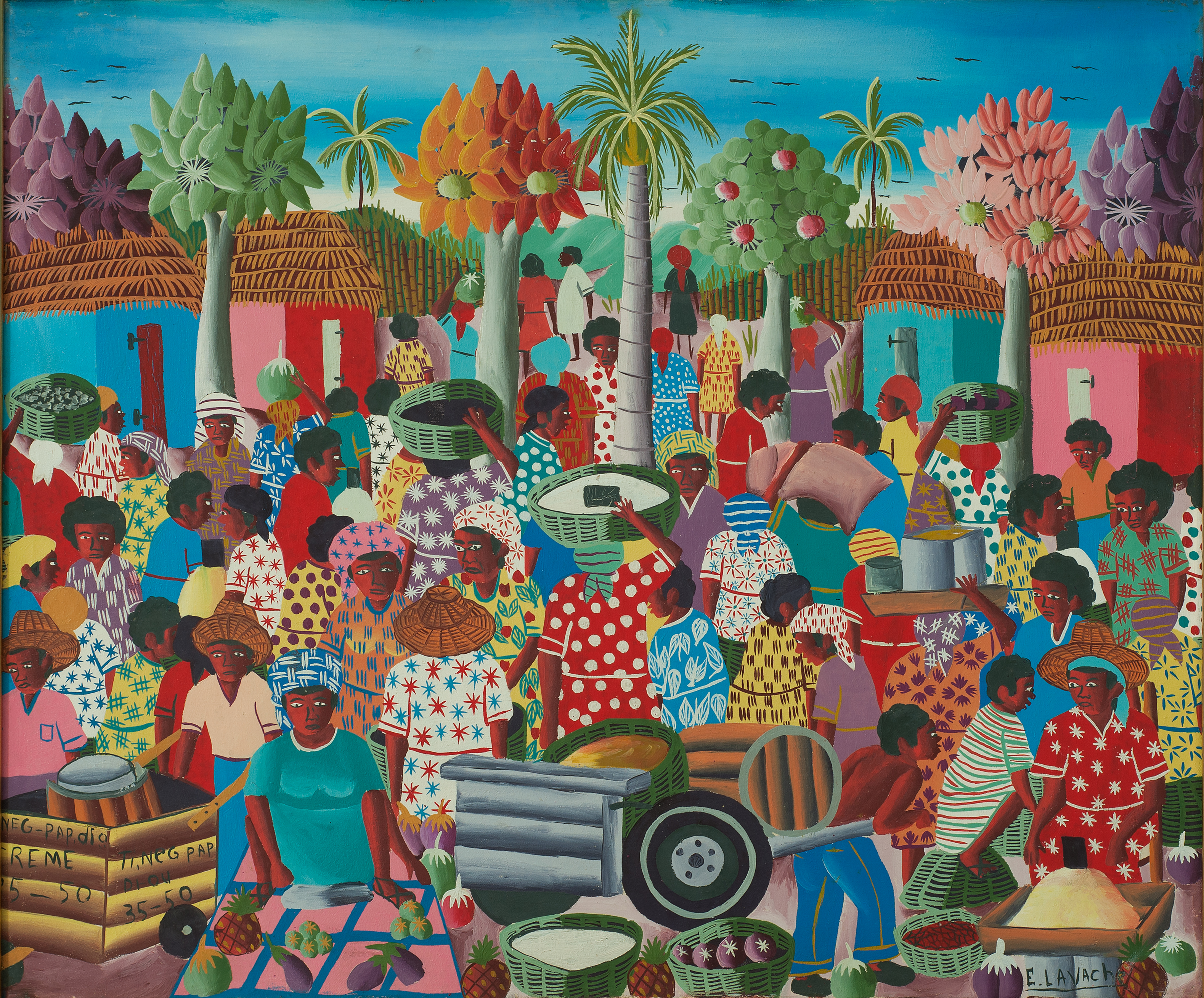 Lavache Ernest 20X24 #18-3-96 Canvas