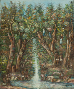 Louizor Guerda 24X20 #51-3-96 Canvas 199