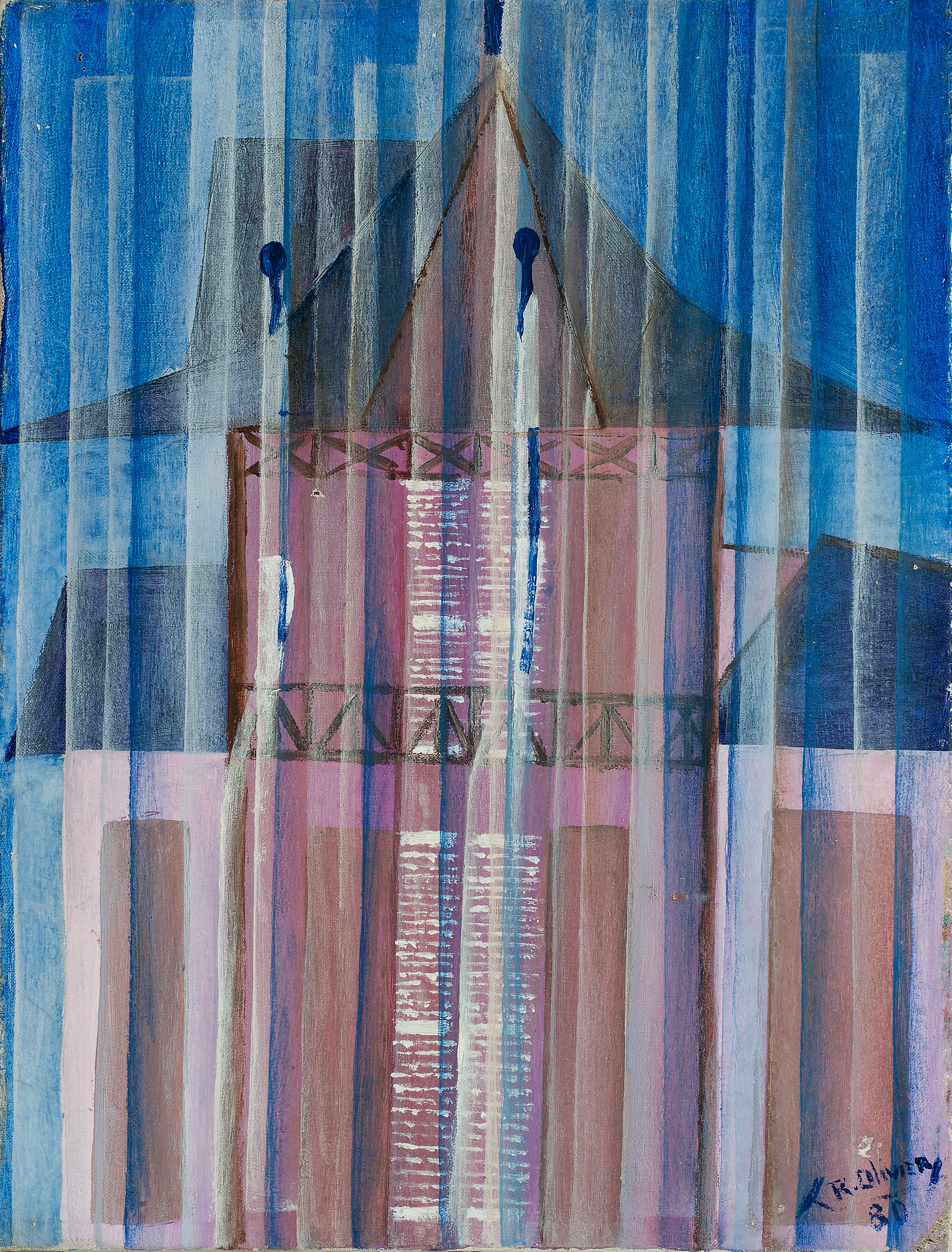 Olivier Raymond 16X12 #1-3-96 Canvas 198