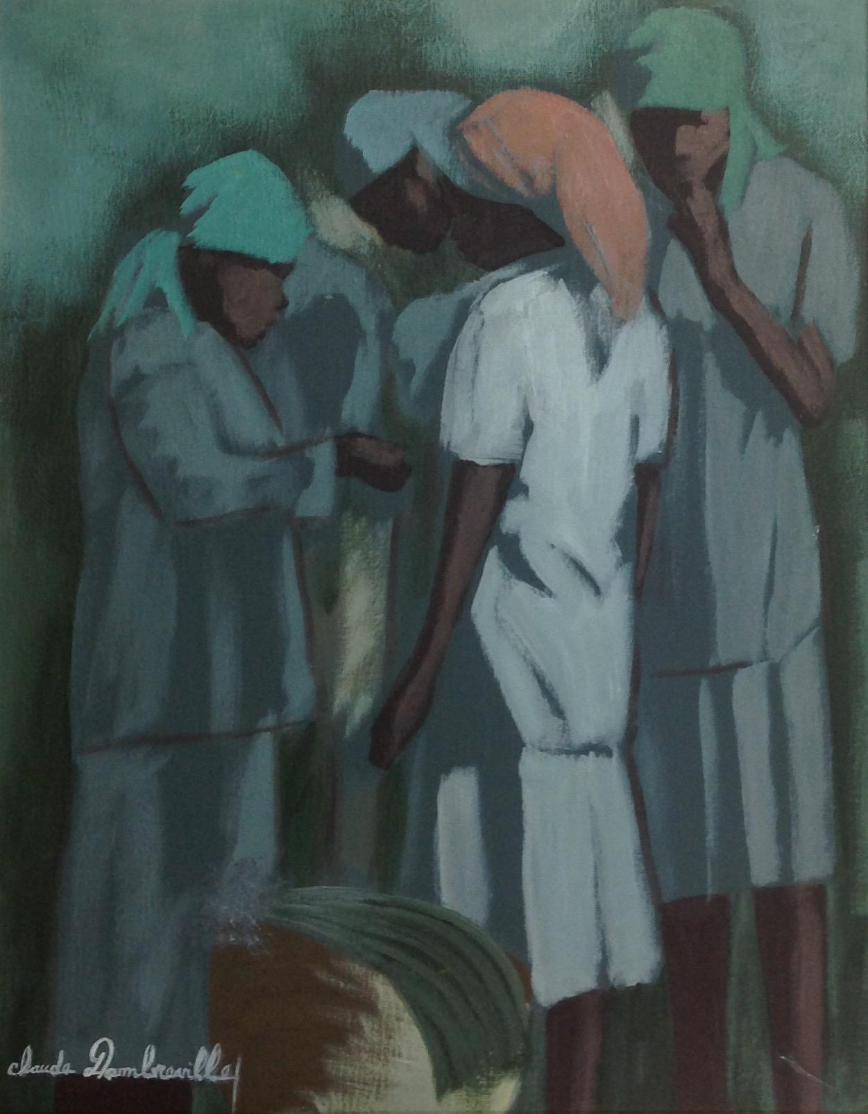Dambreville Claude 16X20 #53-3-96 canvas 1997