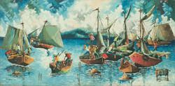 Emile N. 25X49 1:2 #1-3-96 Canvas