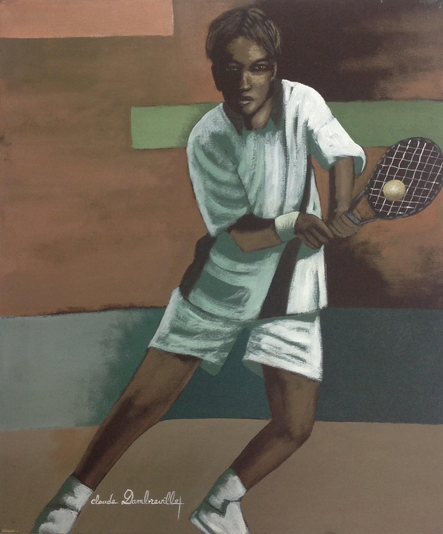 Dambreville Claude 20X24 #260-3-96 canvas 1999