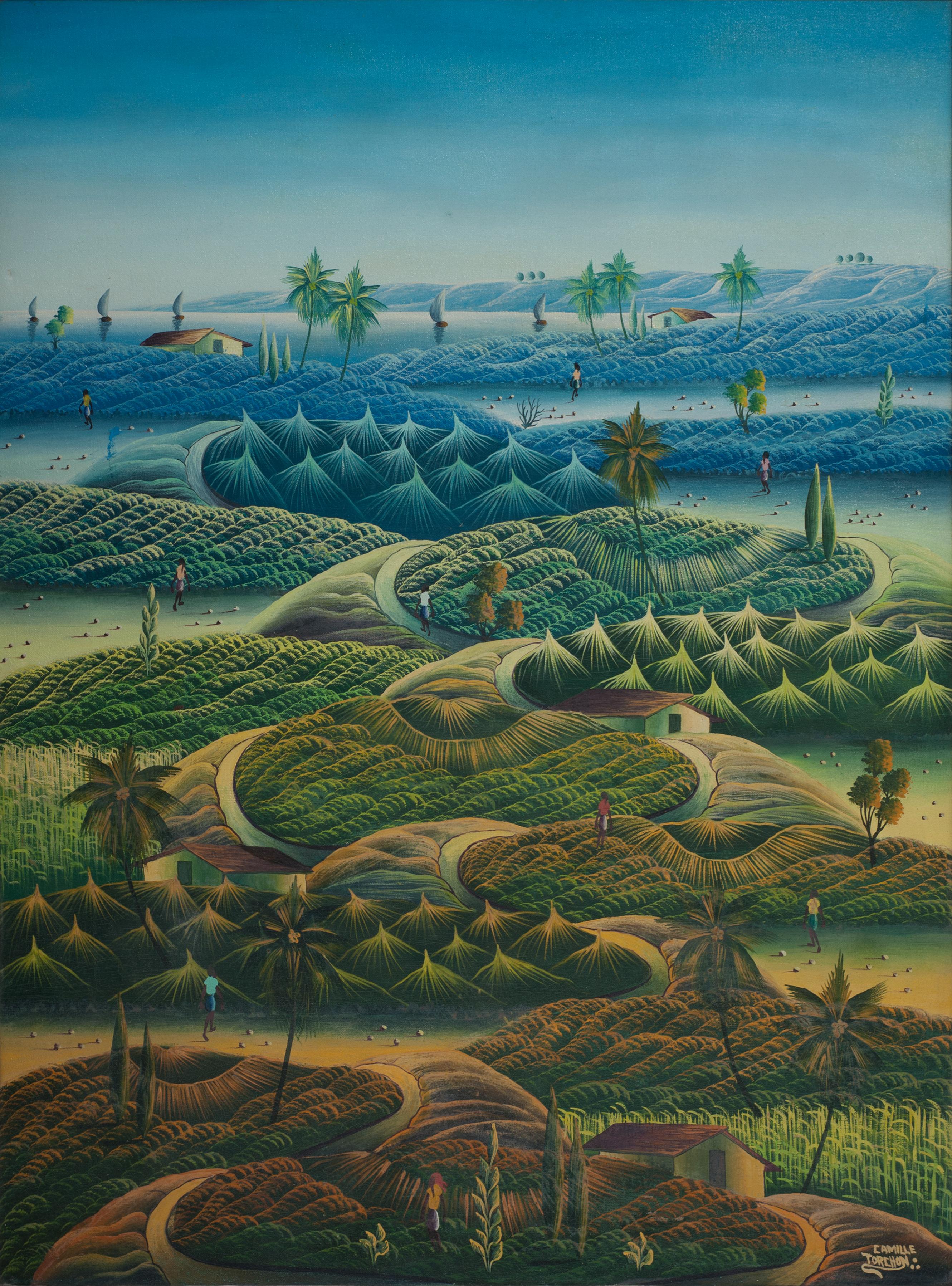 Torchon Camille 40X30 #9-4-90 Canvas