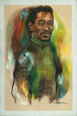 Valbrun Jacques 30X20 #6-3-96 Canvas 198