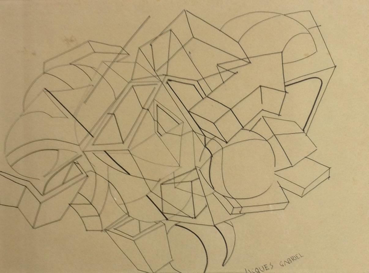 Gabriel Jacques 12X16 #35-3-96 dessin