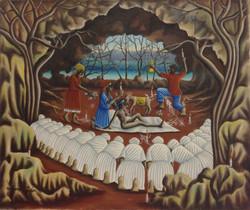 Valcin Gerard 20X24 #48-3-96 canvas 1976