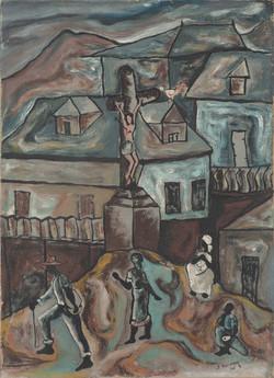 Beauvoir Paul 25X18 #11-6-91 Canvas 1956