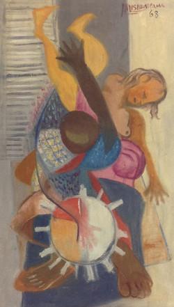 Desruisseau Rose Marie 14X24 #46-3-96 canvas 1968