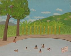 Obin Antoine 16X20 #8-3-96 canvas