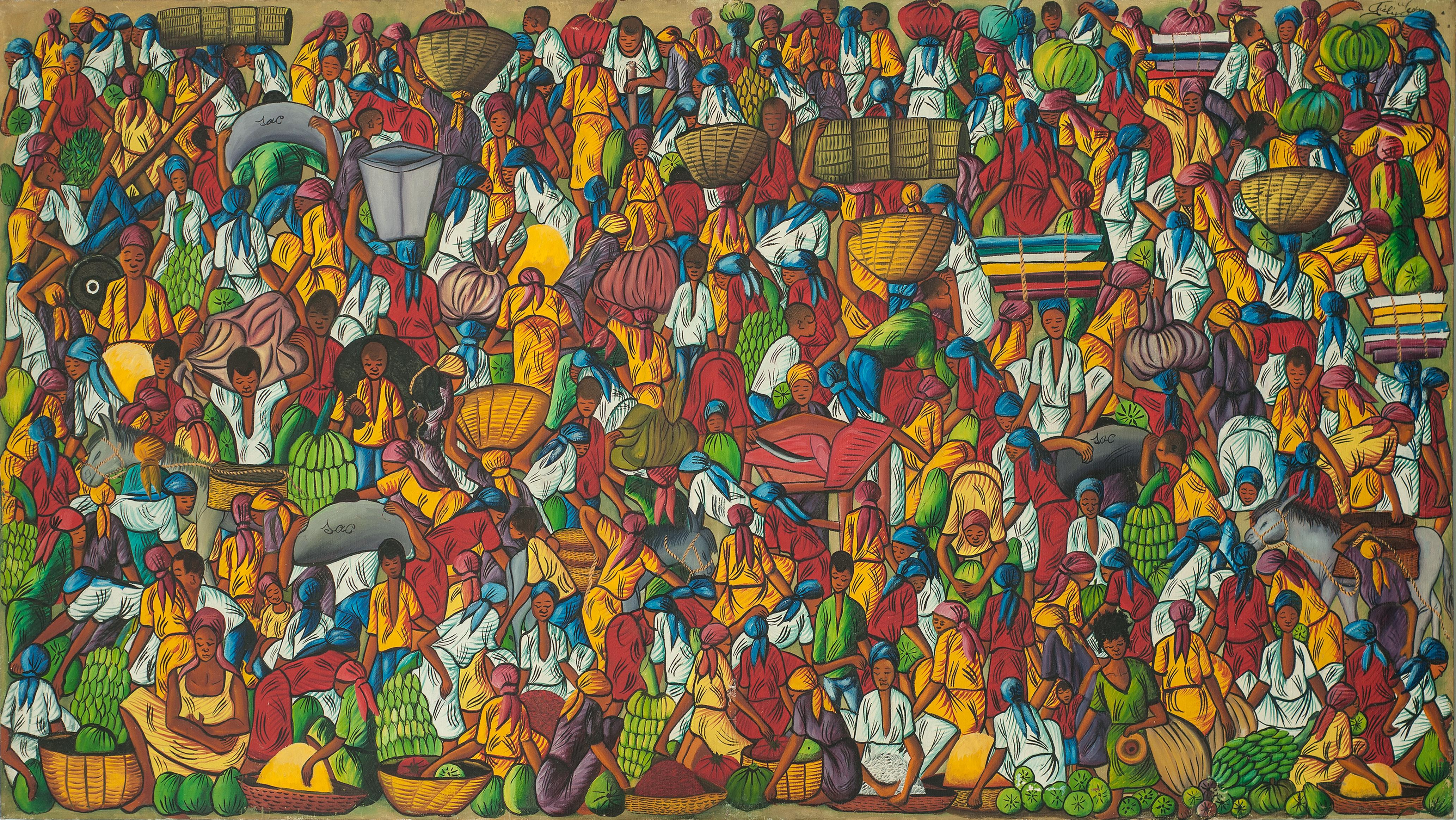 Jean Felix 40X72 #18-4-90 Canvas 1975