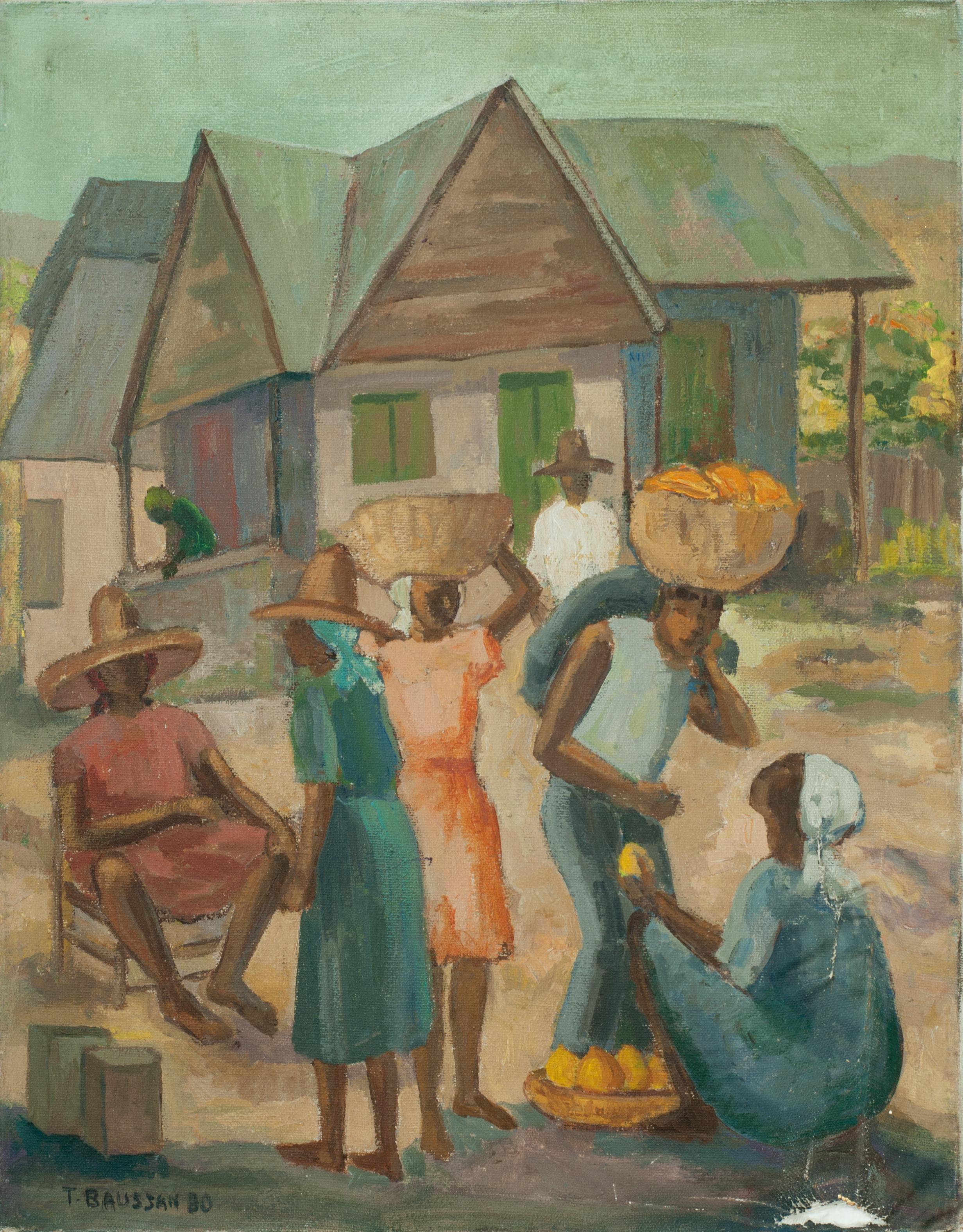 Baussan Tamara 18X14 #16-396 Canvas 1980