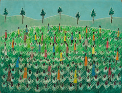 Cameau Joseph 12X16 #1-3-96 Board 1980