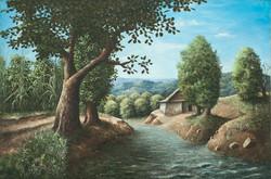 Jn Louis Ernst 24X36 #22-3-96 Canvas 198