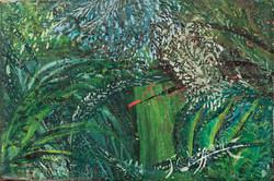 Louissaint Jn Claude 4X6 #85-3-96 Canvas