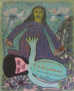 Pierre-Louis Prospere 30X24 #14-3-96 canvas 1986