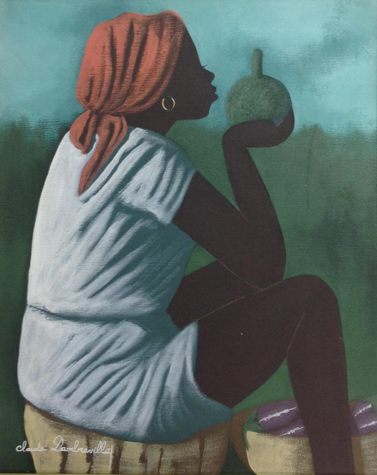 Dambreville Claude 16X20 #46-3-96 canvas 1997
