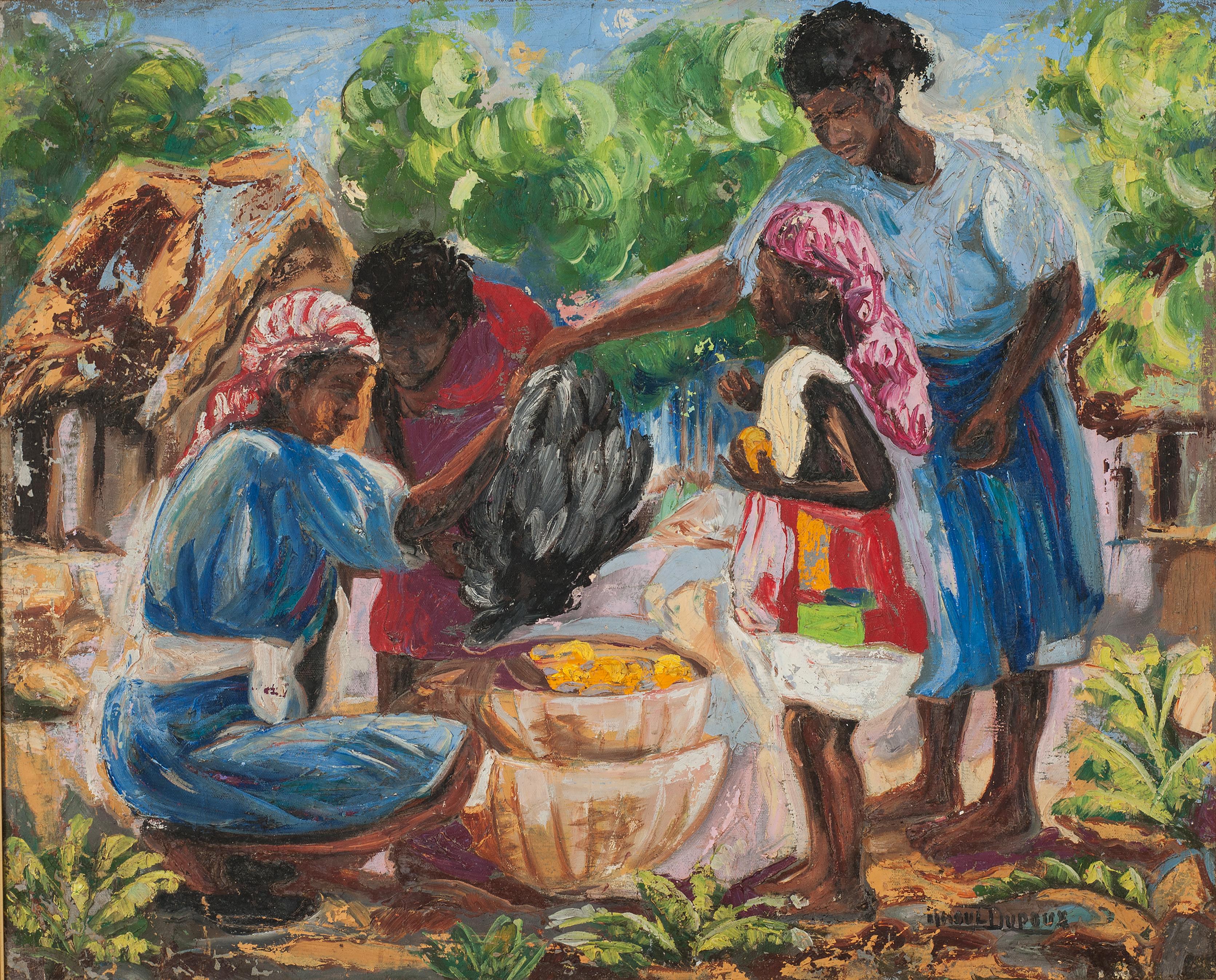 Dupoux Raoul 24X30 #1-3-96 Canvas Circa
