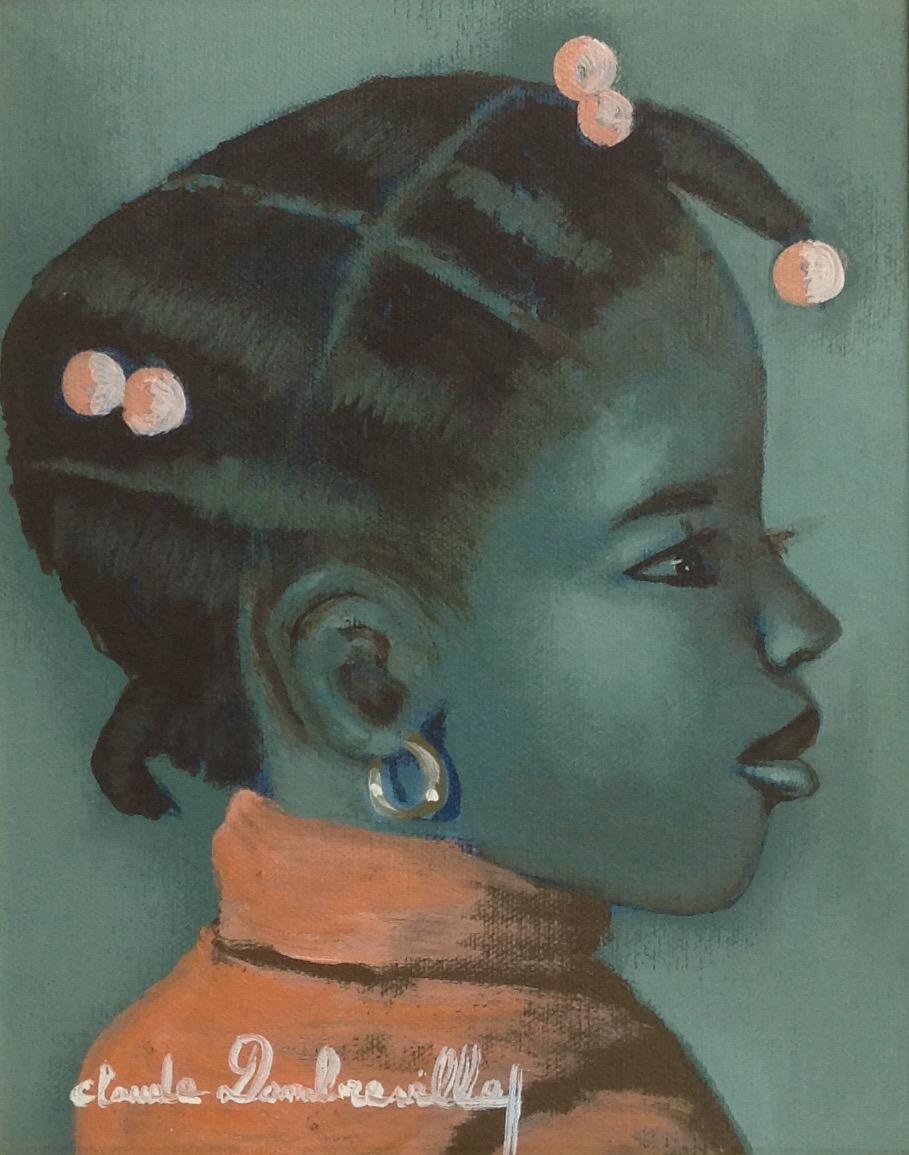 Dambreville Claude 8X10 #107-3-96 canvas 1997