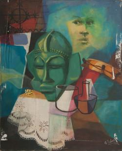 Charles Etzer 24X20 #18-3-96 Canvas 1982