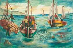Lafontant Yves 24X36 #21-3-96 Canvas Cir