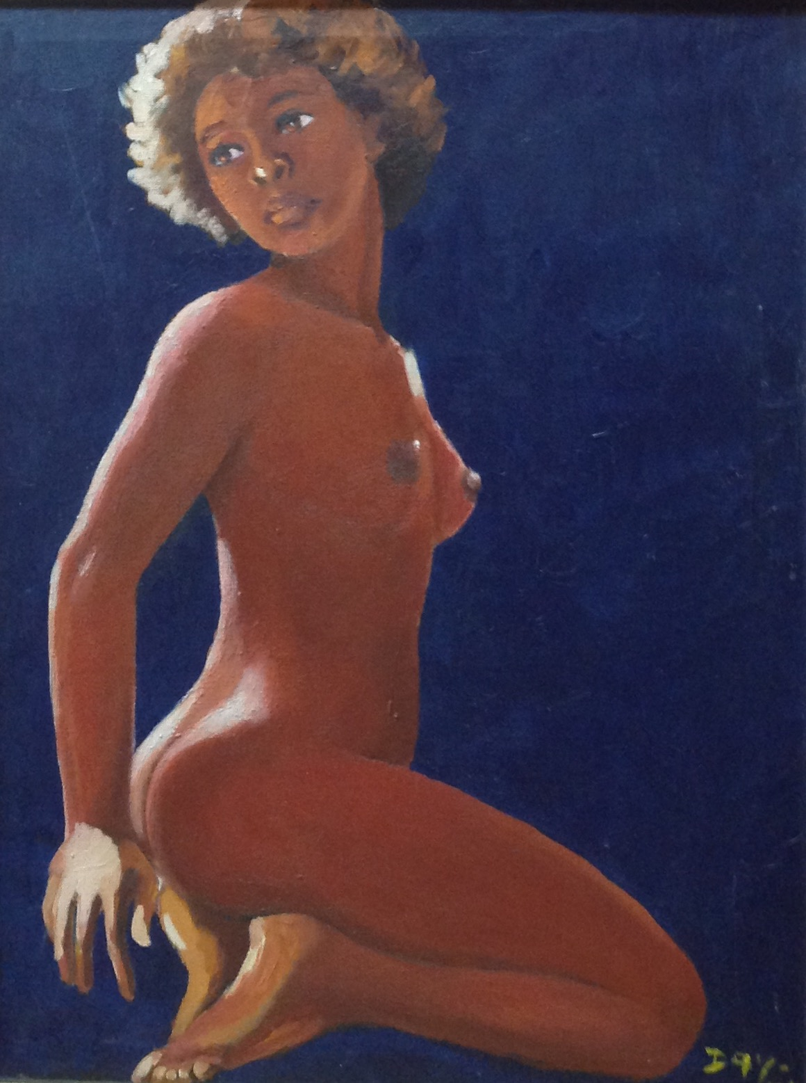 Day Marie Denise 32X24 #1-3-96 canvas 1974