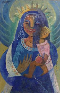 Desruisseau Rose Marie 24X36 #35-3-96 canvas 1973