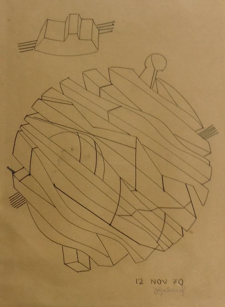 Gabriel Jacques 11X14 #28-3-96 dessin