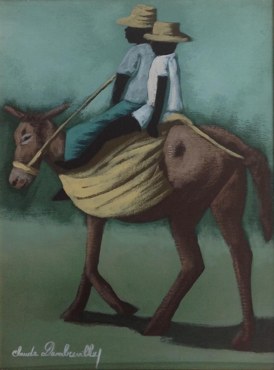 Dambreville Claude 12X16 #175-3-96 canvas 1997