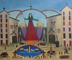 Duffaut Prefete 20X24 #86-3-96 canvas 1982