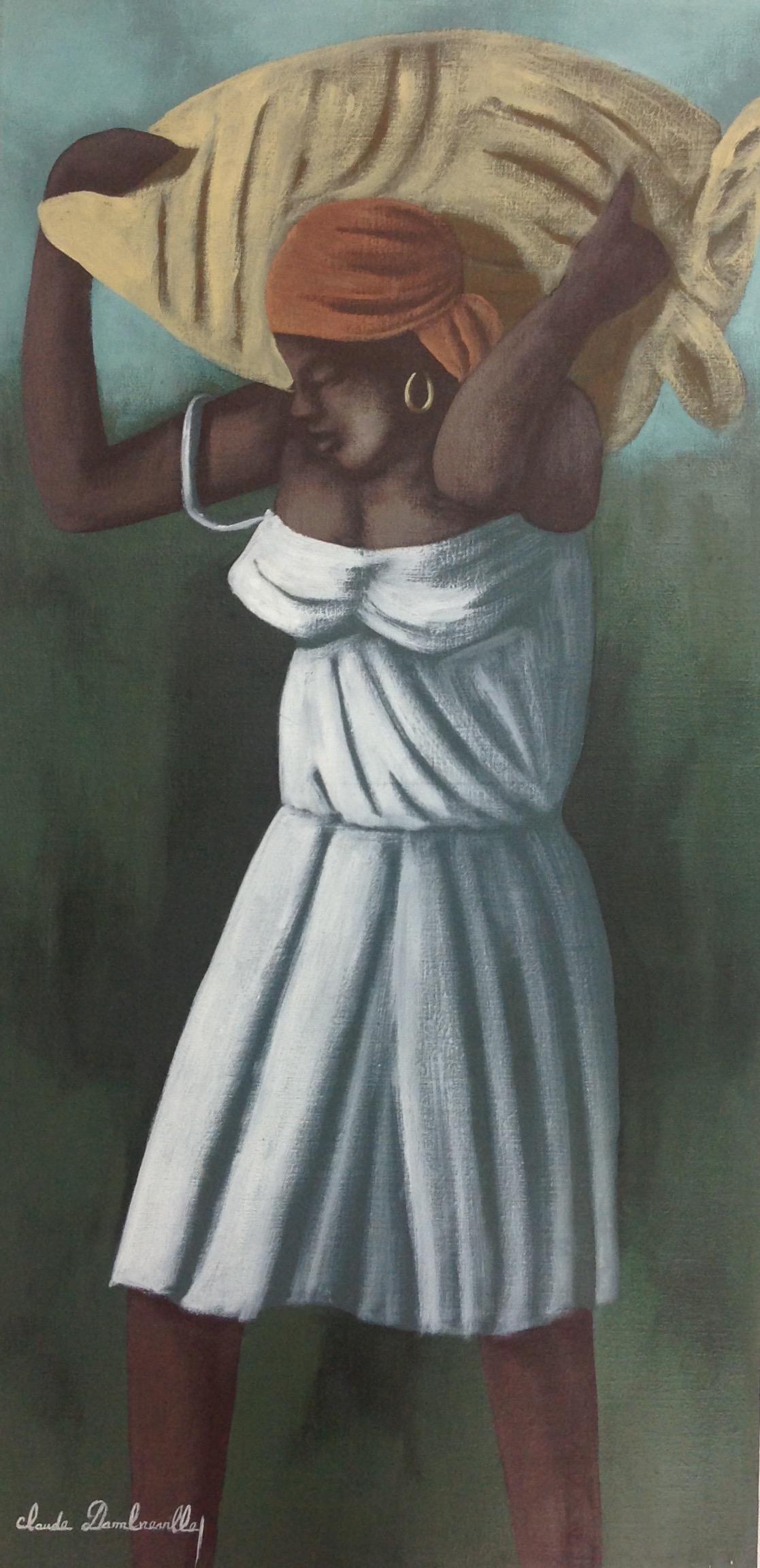 Dambreville Claude 18X36 #113-3-96 canvas 1997