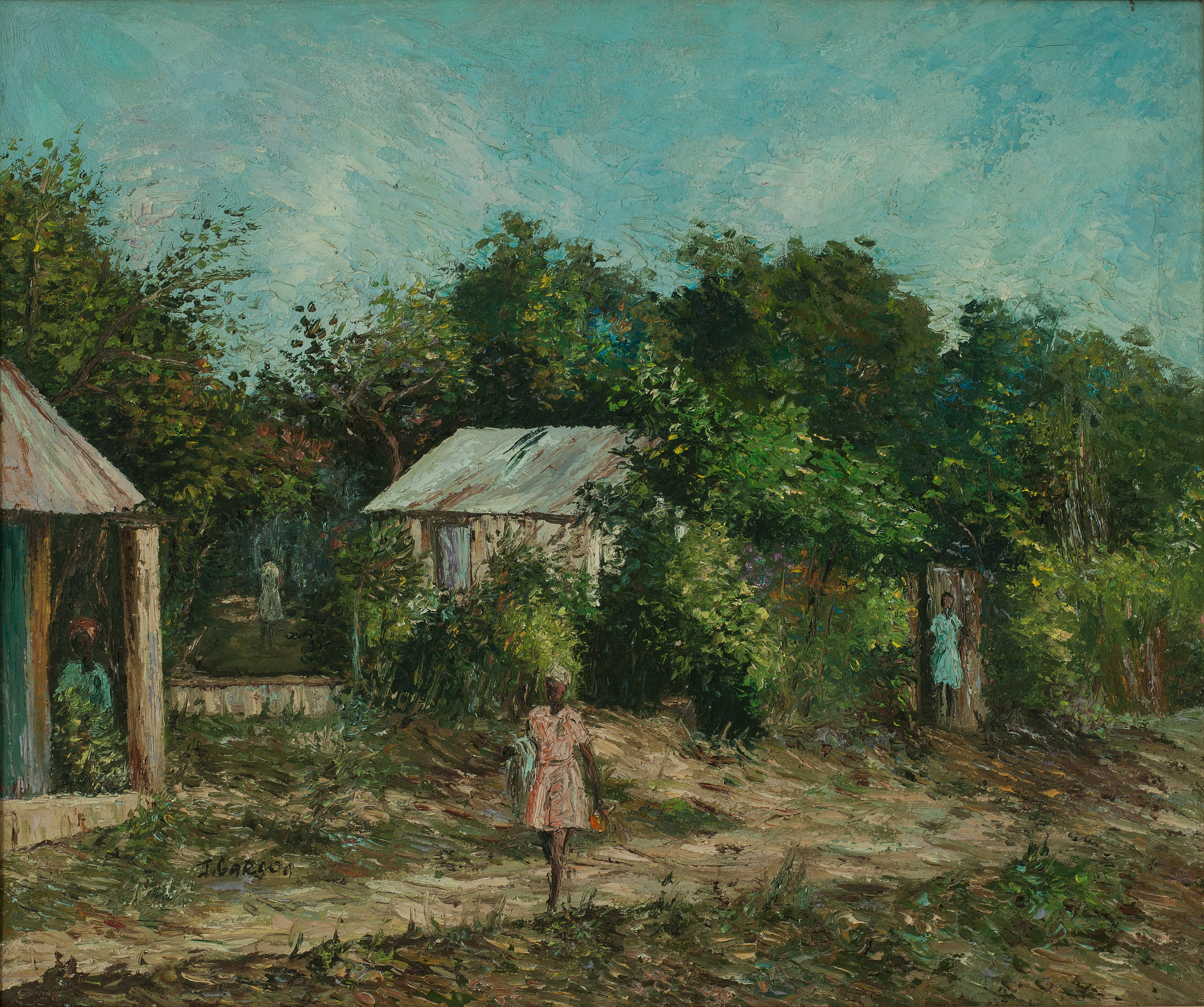 Garcon Jacquelin 20X24 #64-3-96 Canvas 1
