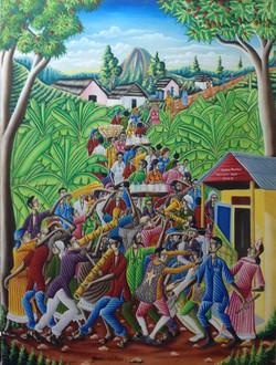 Valcin Gerard 46X38 #10-3-96 canvas 1985