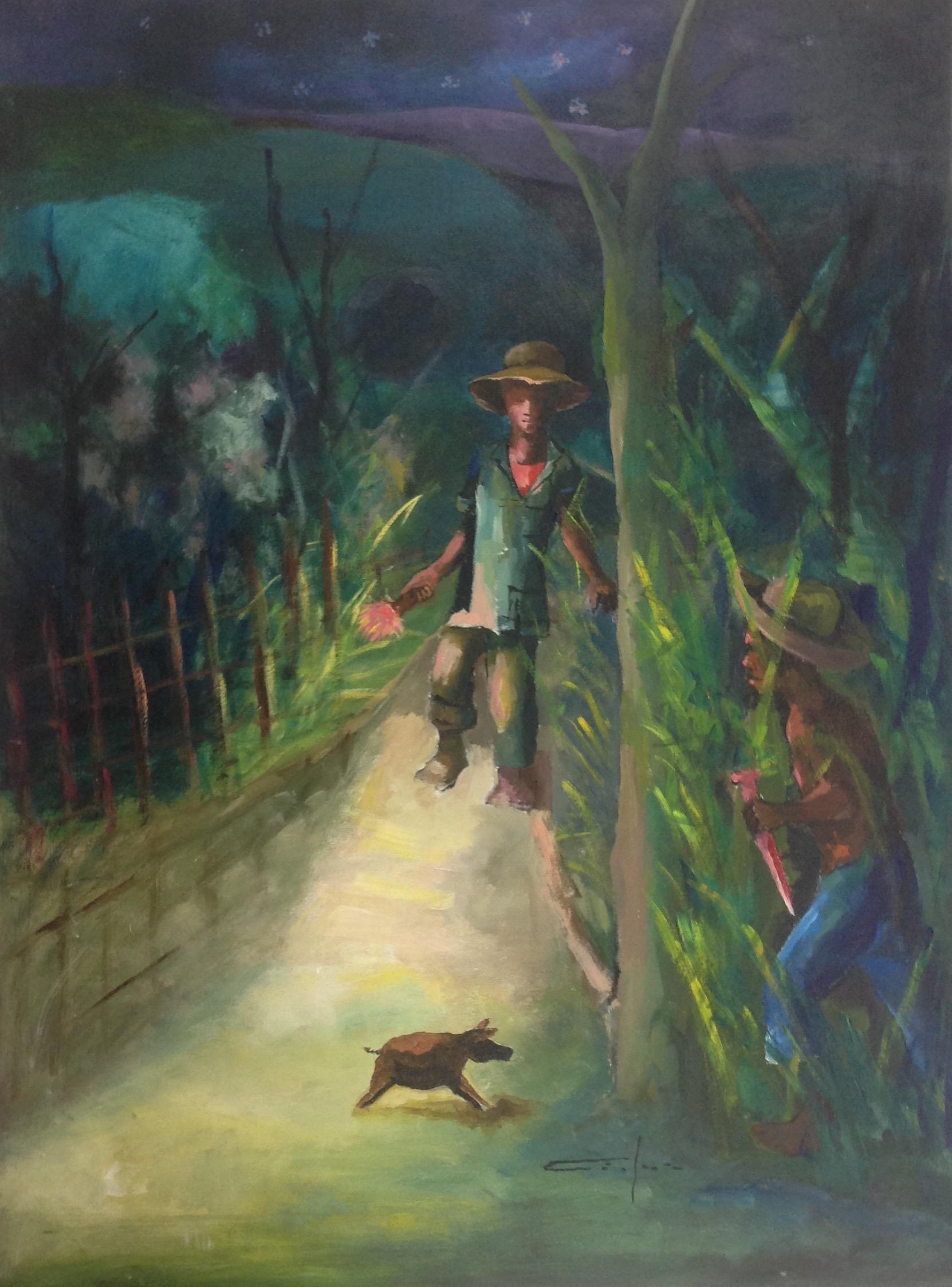 Dieudonne Cedor 30X40 #2-2-95 canvas