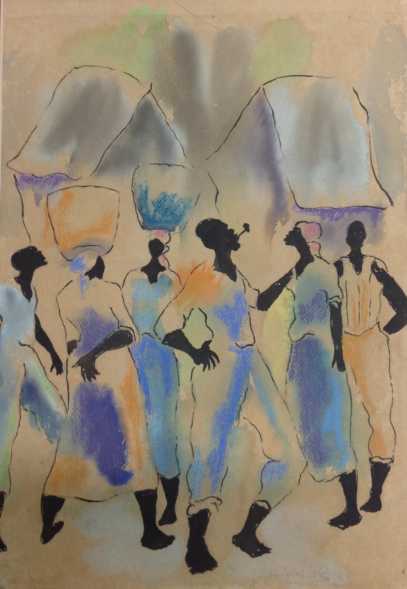 Dieudonne Cedor 11X15 #204-3-96 dessin